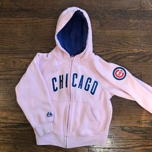 Chicago Cubs Zip Up Sweatshirt
